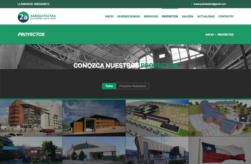 2Arquitectas - WDesign - Diseño Web Profesional