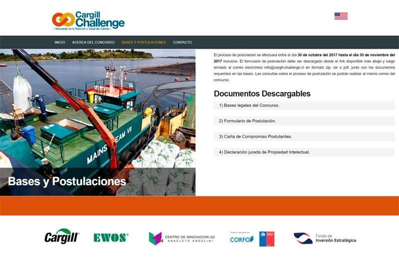 Cargill Challenge - WDesign - Diseño Web Profesional