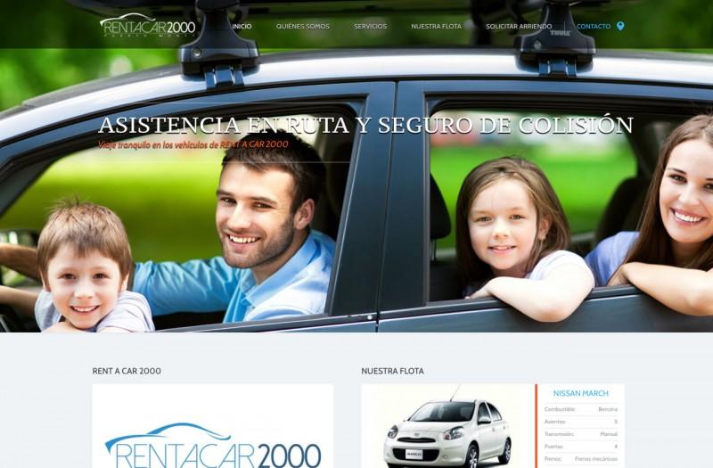 Rentacar 2000 - WDesign - Diseño Web Profesional