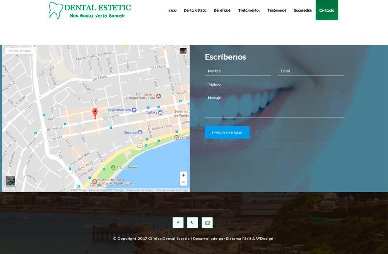SOMOS DENTAL ESTETIC - WDesign - Diseño Web Profesional